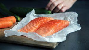 Salmon contains vitamin D