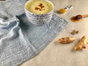 Turmeric latte contains anti-inflammatory curcumin