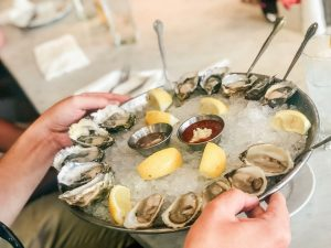 Oysters are rich in zinc